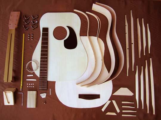 ホスコアコースティックギター組み立てキット