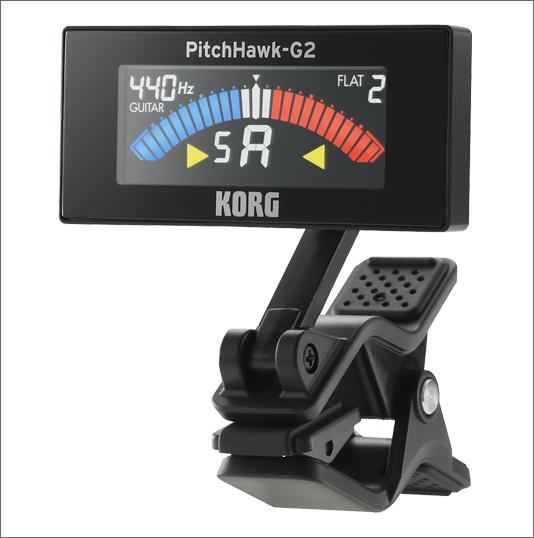 クリップチューナー-KORG-Pitchhawk2G