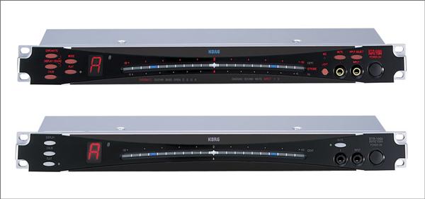 ラックマウントチューナーの定番だったKORG-DTR-2000とDTR-1000