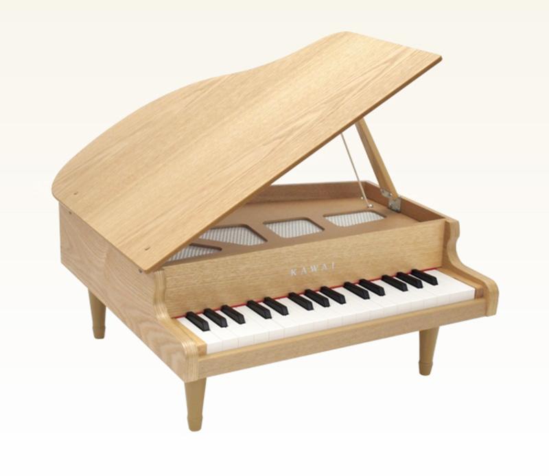 子どもにオススメの楽器_カワイのミニピアノ