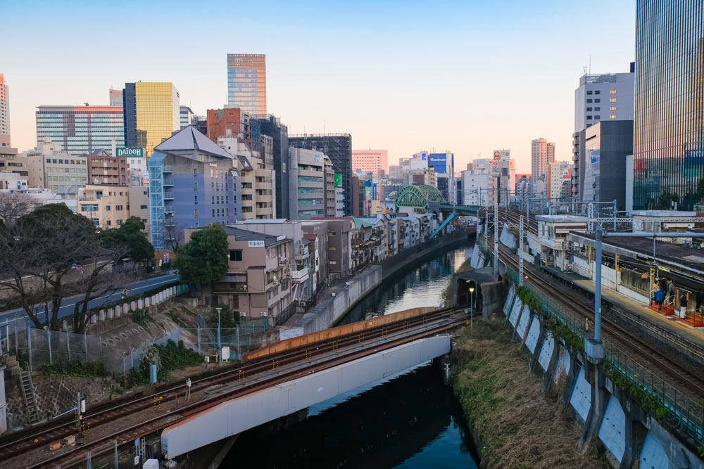 御茶ノ水橋からの景色