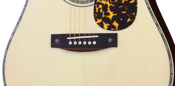 アコギの弦交換-ブリッジ